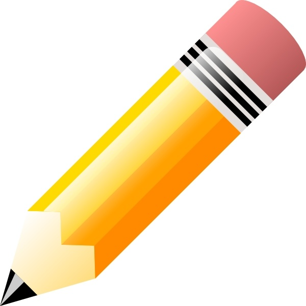 Pencil clip art Free vector in Open office drawing svg ( .svg.