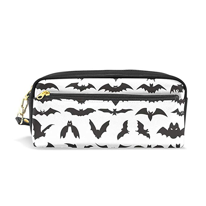 Amazon.com: MUOOUM Halloween Bat Clip Art Pencil Case for Kids Pen.