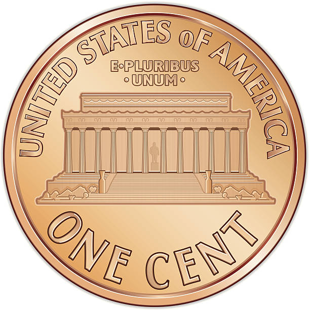 Best Us Penny Illustrations, Royalty.