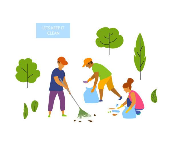 Best Environmental Clean Ups Illustrations, Royalty.