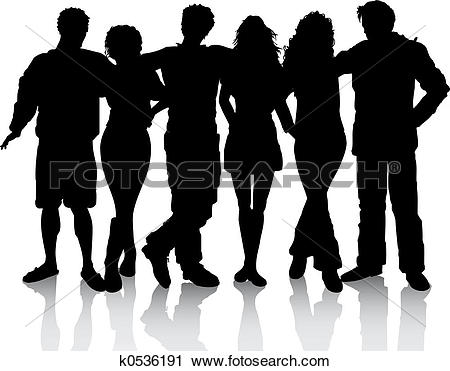 Group people Stock Illustration Images. 68,771 group people.