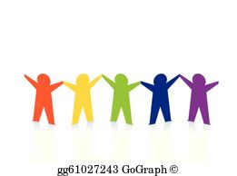 People Holding Hands Clip Art.