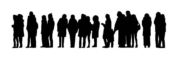 People clipart line.