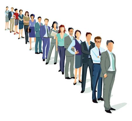 3,737 Waiting Line Cliparts, Stock Vector And Royalty Free Waiting.