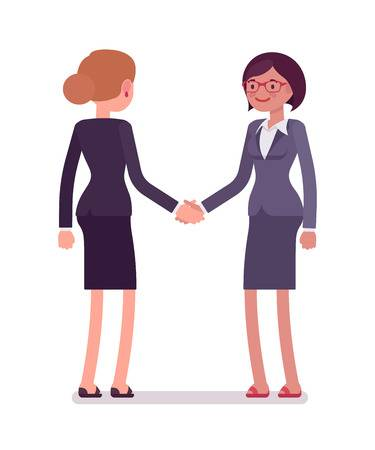 4,805 Two People Meeting Cliparts, Stock Vector And Royalty Free Two.