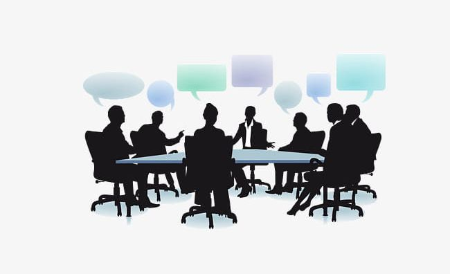 Business People Meeting Silhouette PNG, Clipart, Business, Business.