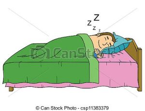 Person Sleeping Clipart Sleeping Man Red X Clipart.