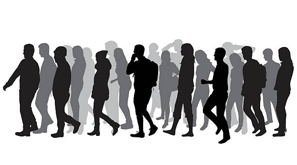 People walking clipart 1 » Clipart Station.