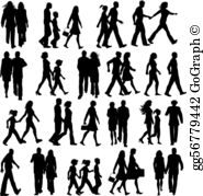 Walking Clip Art.