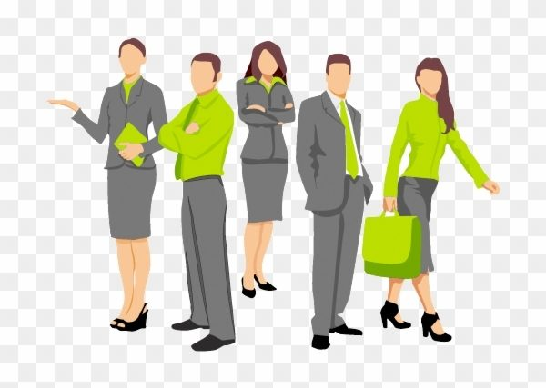 Business People High Quality Clipart.