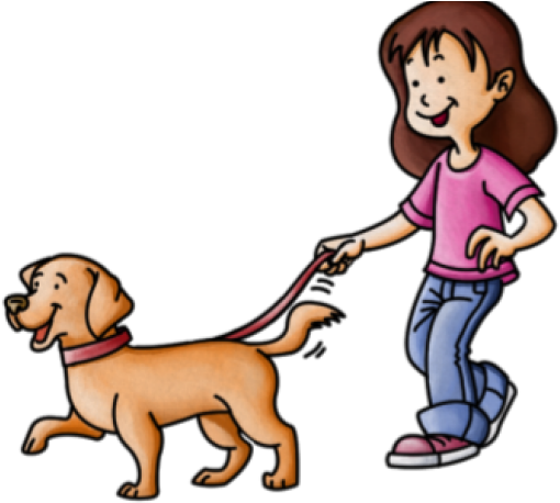 Pets Clipart Dog Walker.