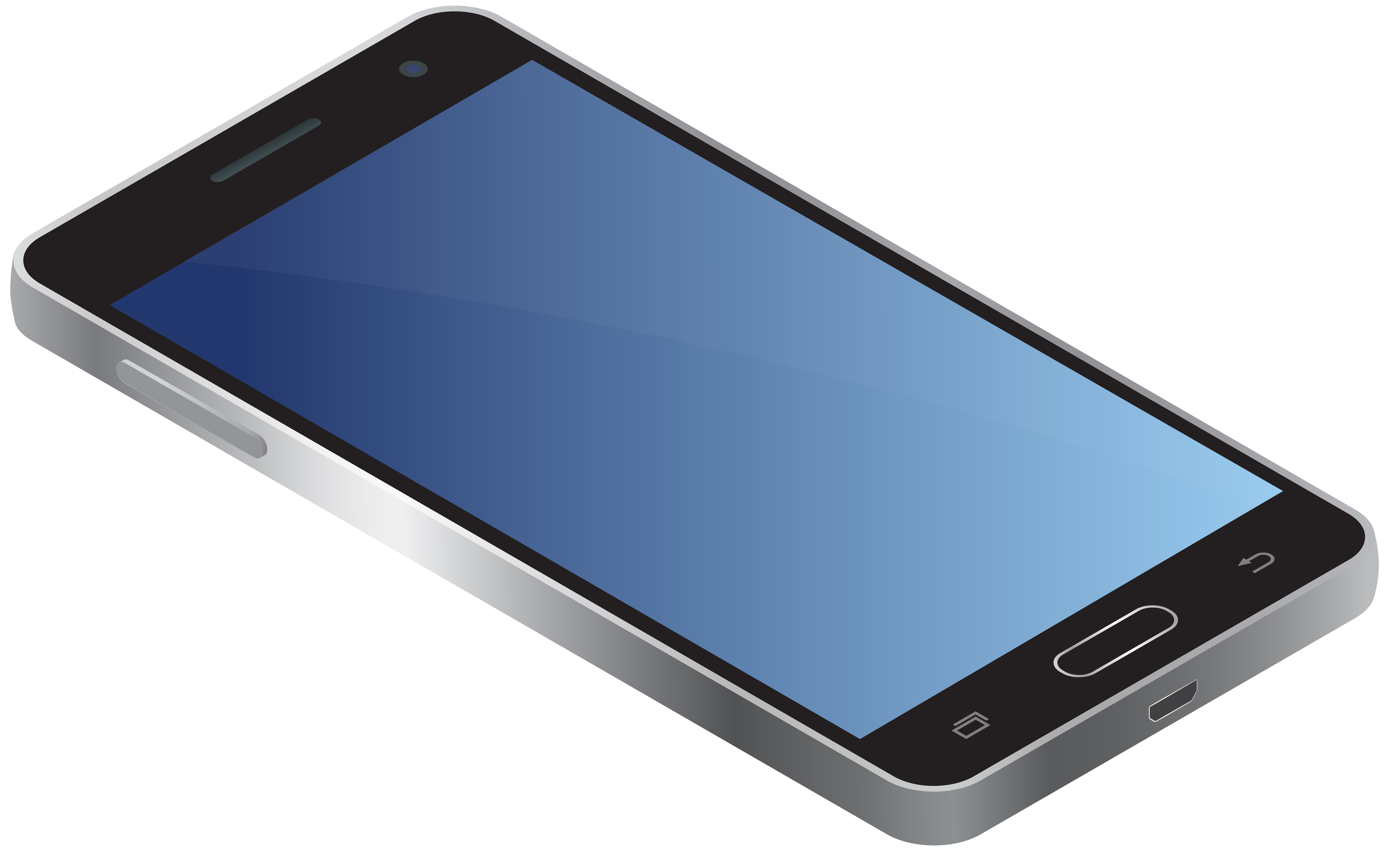 Mobile Phone Transparent PNG Clip Art Image.