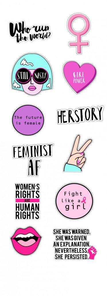 Girl Power Clipart.
