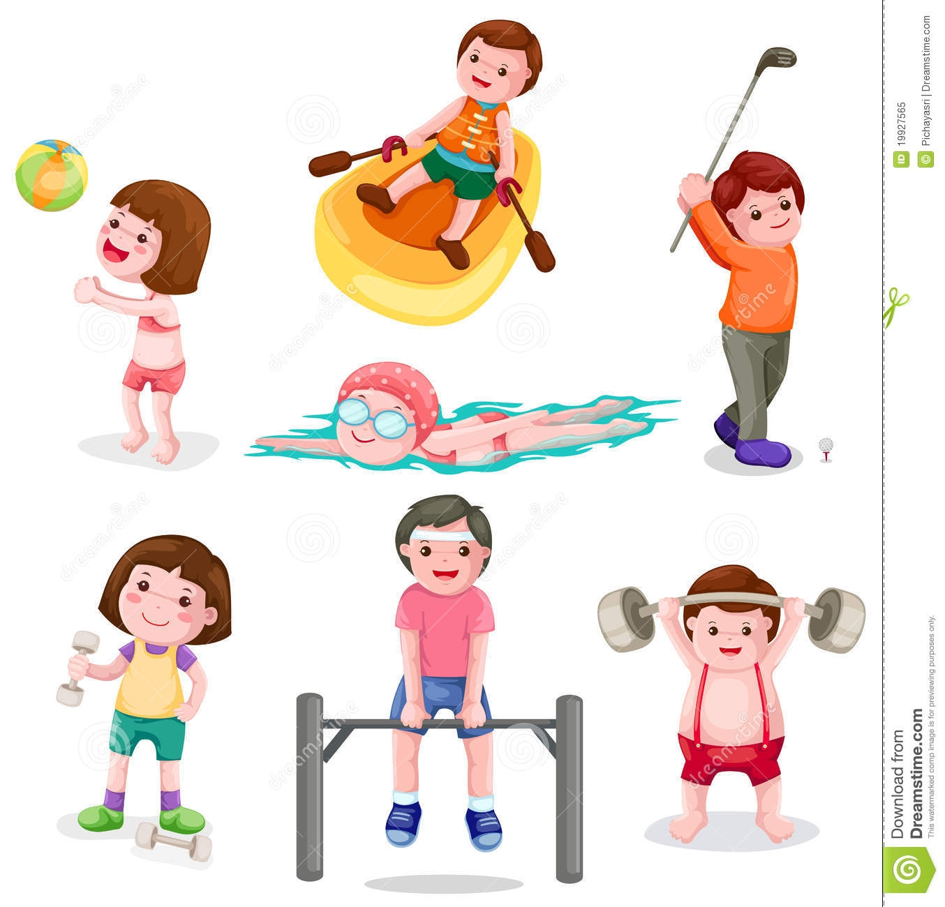 Physical Activity Images.