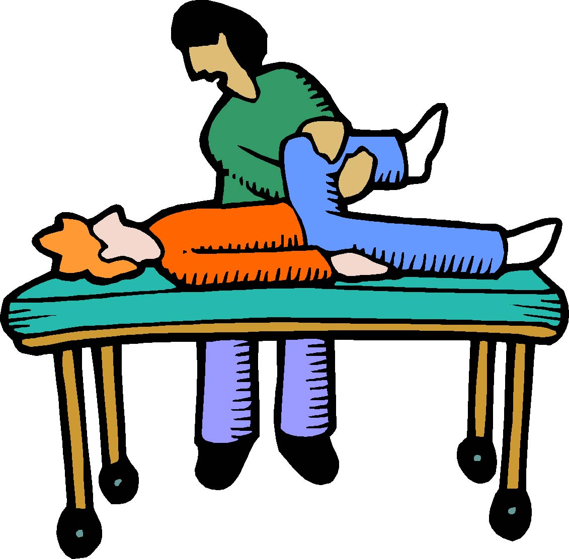Physical Therapy Clip Art N2 free image.