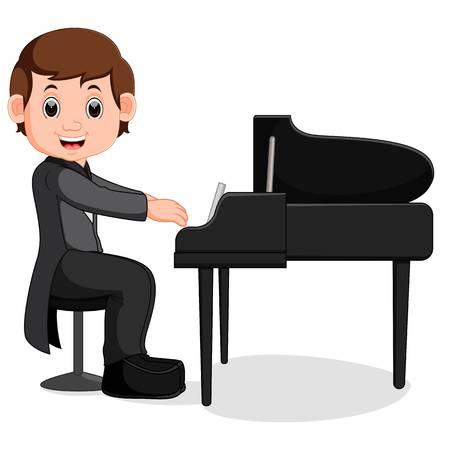 12,225 Piano Keyboard Cliparts, Stock Vector And Royalty Free Piano.