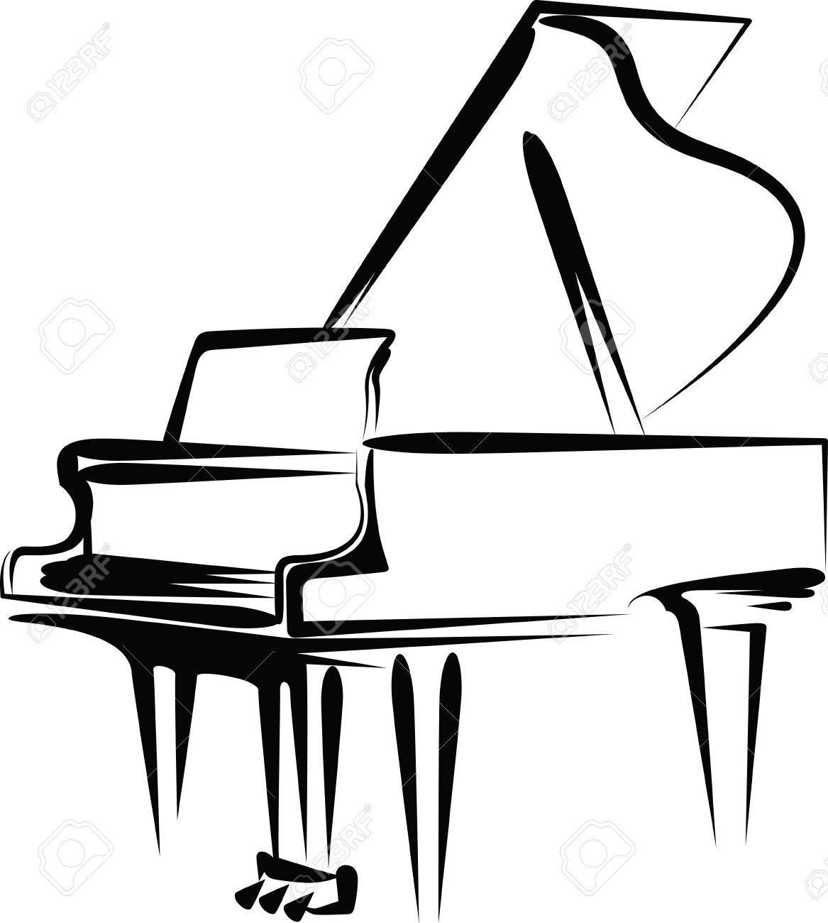 Piano Key Clipart.