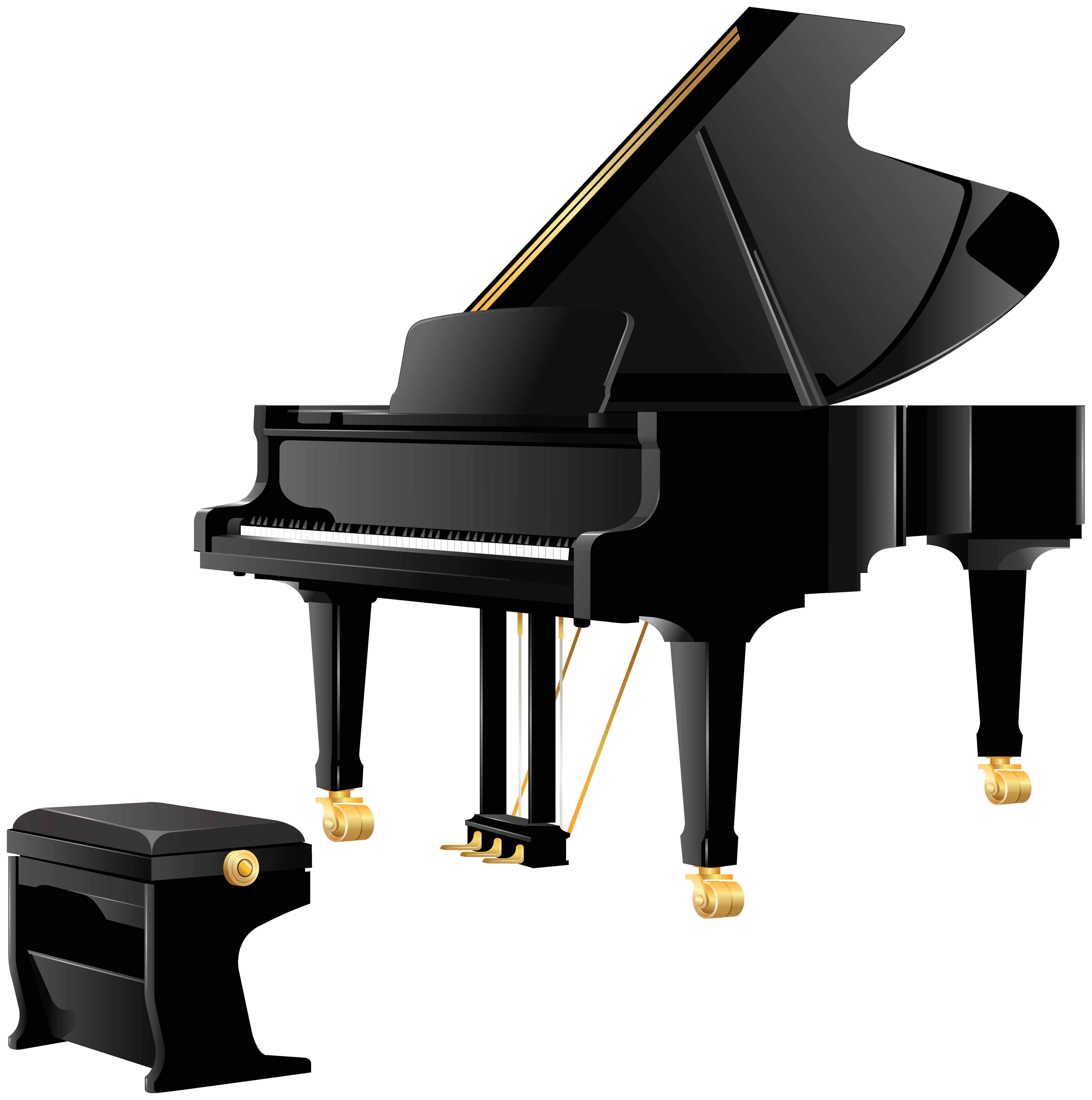 Royal Grand Piano PNG Clipart.