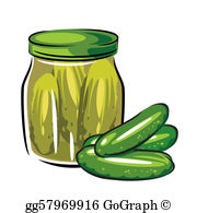 Pickle Clip Art.