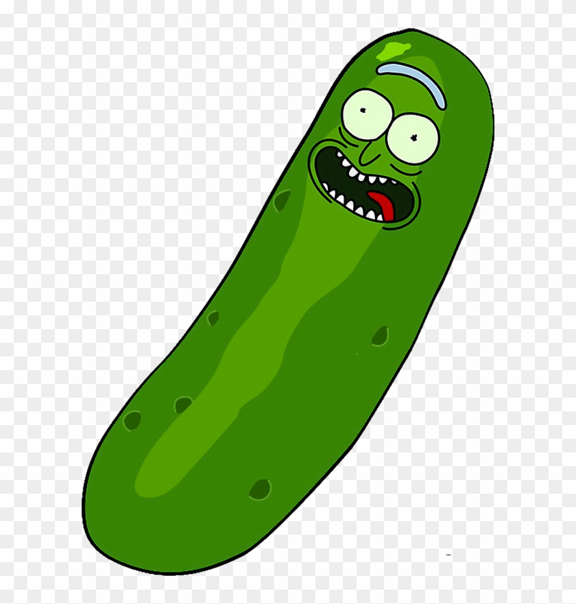 Pickle Rick From Rick And Morty Clipart.