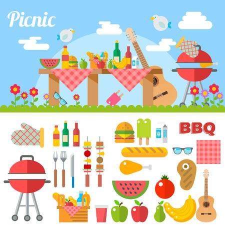 28,819 Picnic Food Cliparts, Stock Vector And Royalty Free Picnic.
