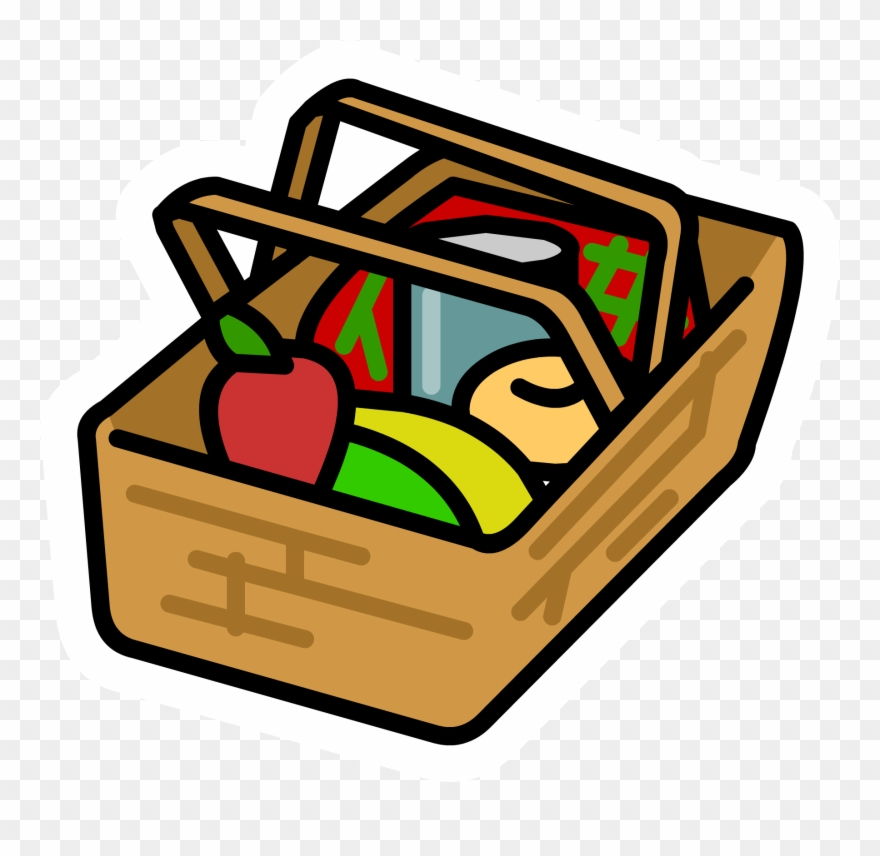 Images For Picnic Basket Clip Art.