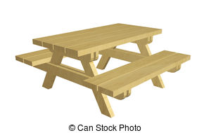 Picnic table Illustrations and Clipart. 4,965 Picnic table royalty.