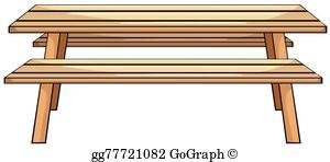 Picnic Table Clip Art.