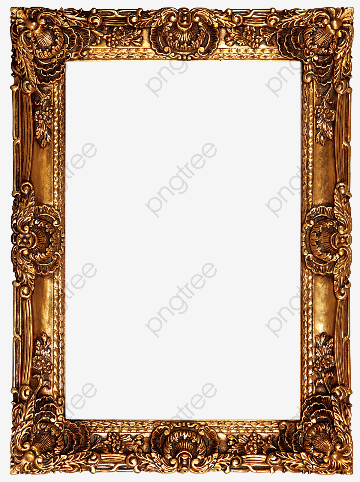 High Definition Oil Painting Frame Clear Picture Frame, Oil Clipart.