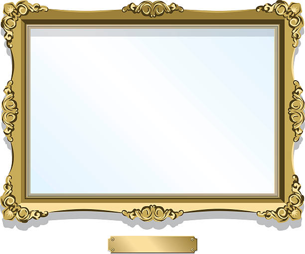 Best Picture Frame Illustrations, Royalty.