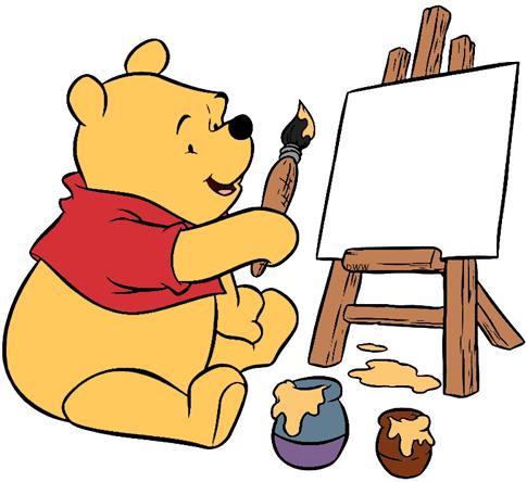 Winnie the Pooh Clip Art.