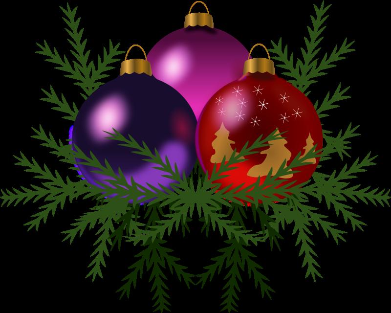 Clip On Bird Christmas Ornaments