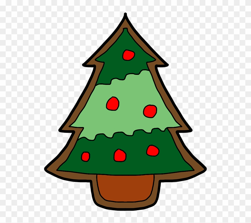 Pictures Of Cartoon Christmas Trees 12, Buy Clip Art.