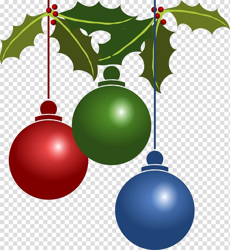 Christmas ornament Christmas decoration , Holidays transparent.