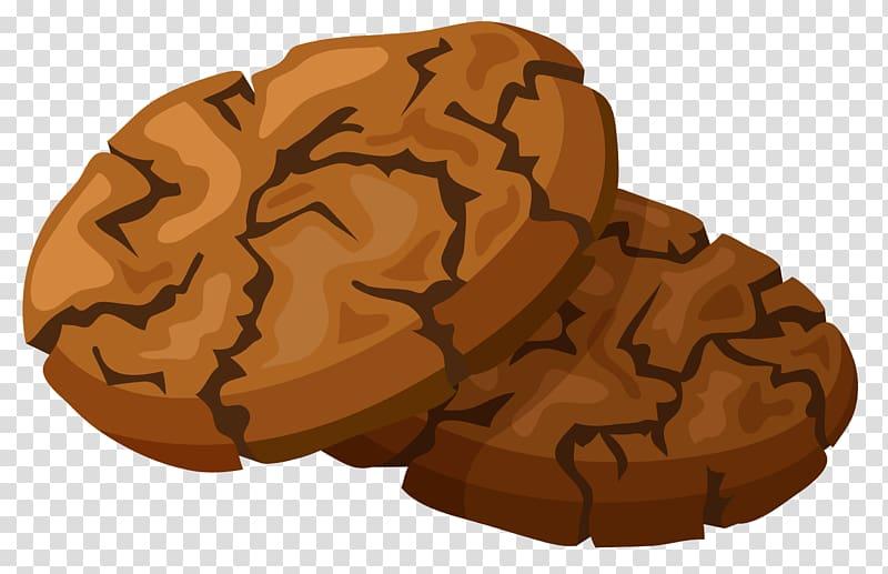 Two cookies , Chocolate chip cookie Chocolate brownie , Chocolate.