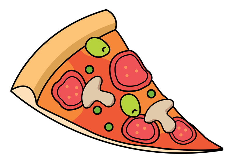 Pizza Slice Clipart.