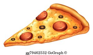 Pizza Slice Clip Art.