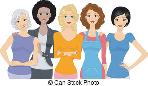 Women Illustrations and Clip Art. 597,321 Women royalty free.