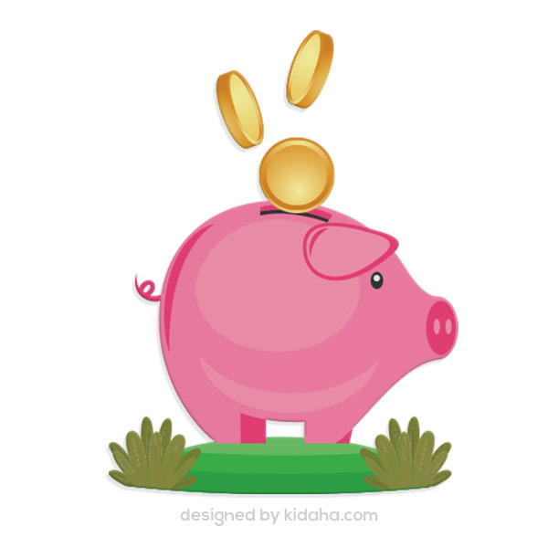 Free piggy bank clip arts,Free education clip arts for kids,Free.