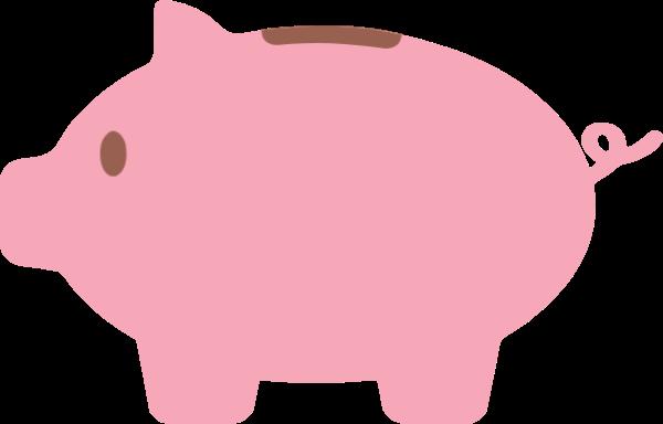 Free Online Pig Piggy Bank Money Vector For Design_sticker 72e138.
