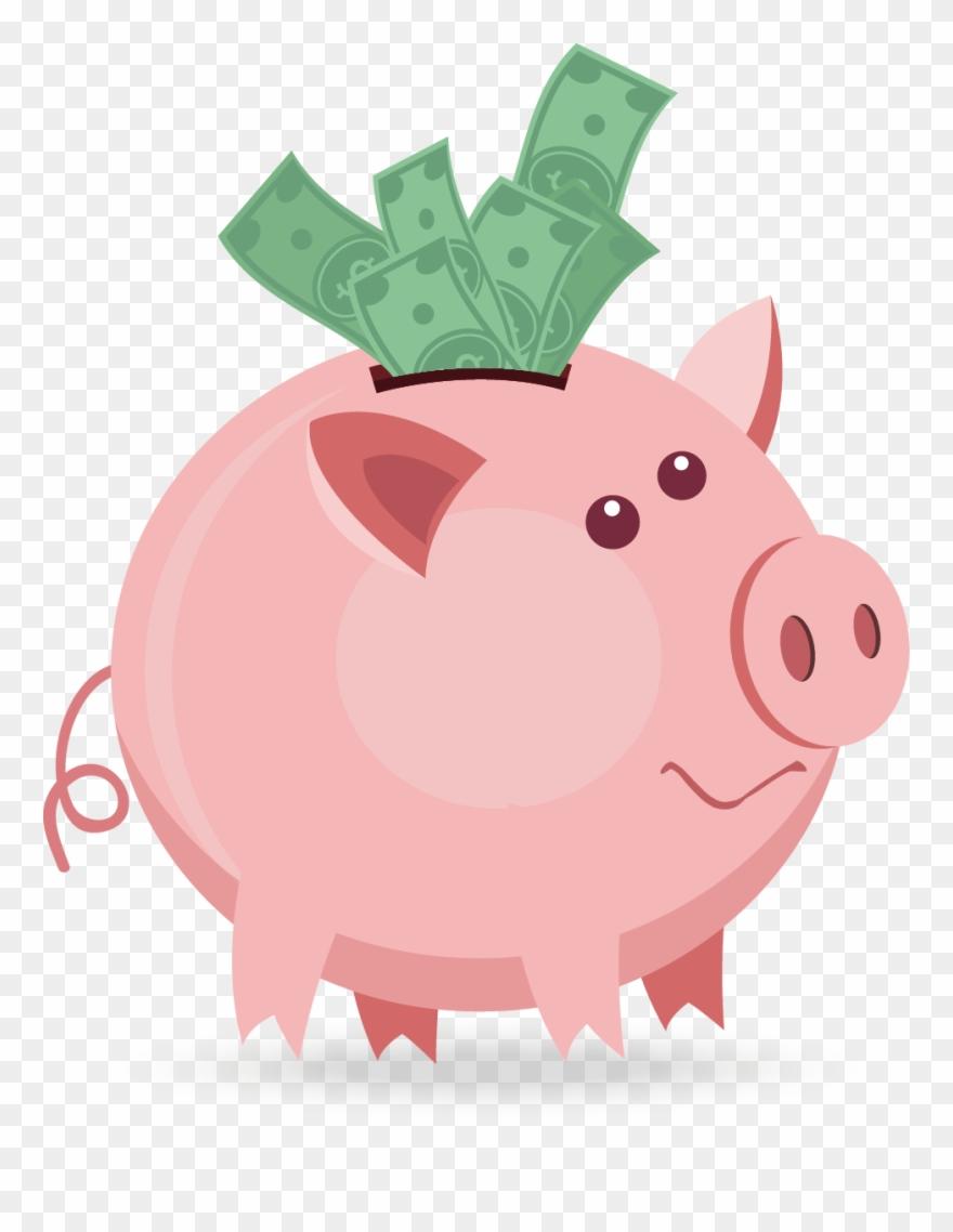 Piggy Bank Png Clipart (#2165448).
