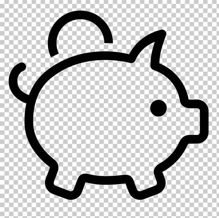 Computer Icons Money Piggy Bank PNG, Clipart, Bank, Black And White.