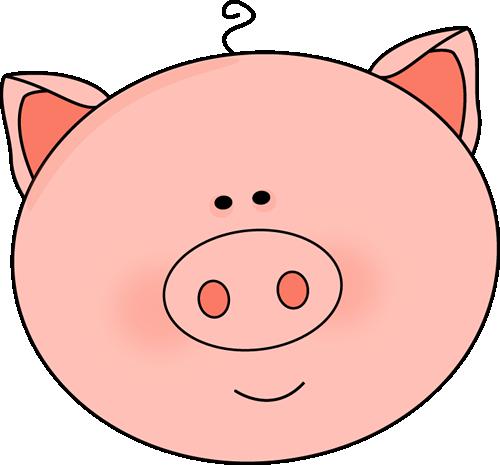Pig Face Clip Art.