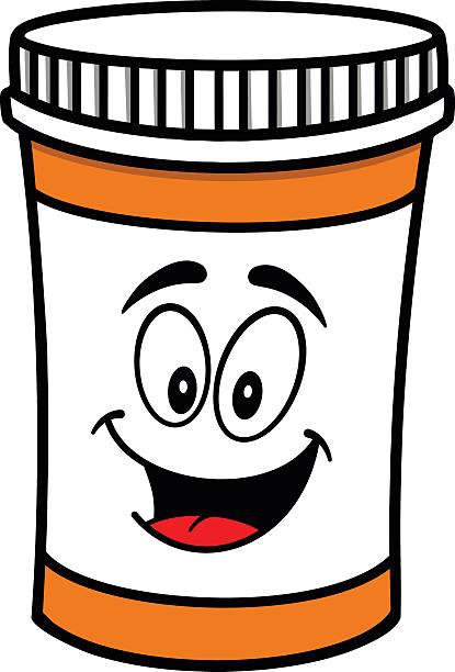 Best Pill Bottle Illustrations, Royalty.