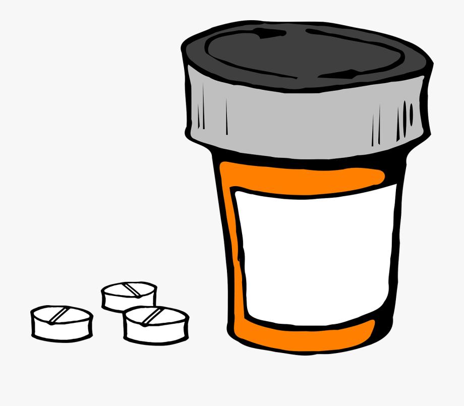 Pill Bottle Medicine Prescription Medical Pill.