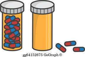 Pill Bottle Clip Art.