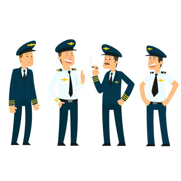 Top 60 Pilot Hat Clip Art, Vector Graphics and Illustrations.