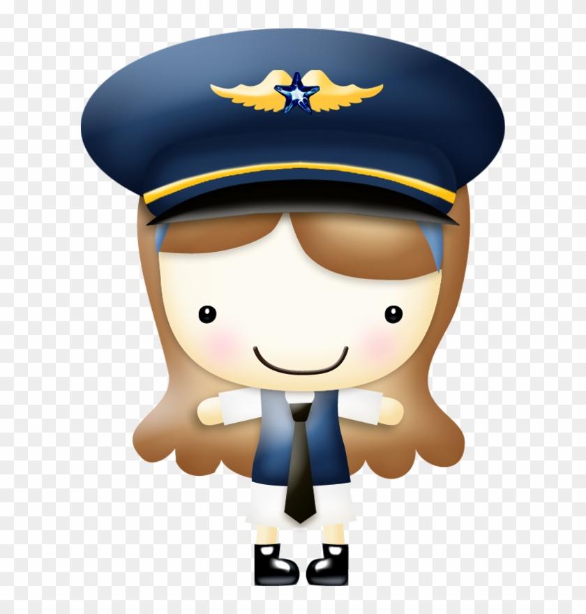 Pilot Clipart Airplane Pilot.