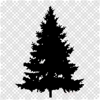 Pine Tree Silhouette PNG Images, Free Transparent Image Download.