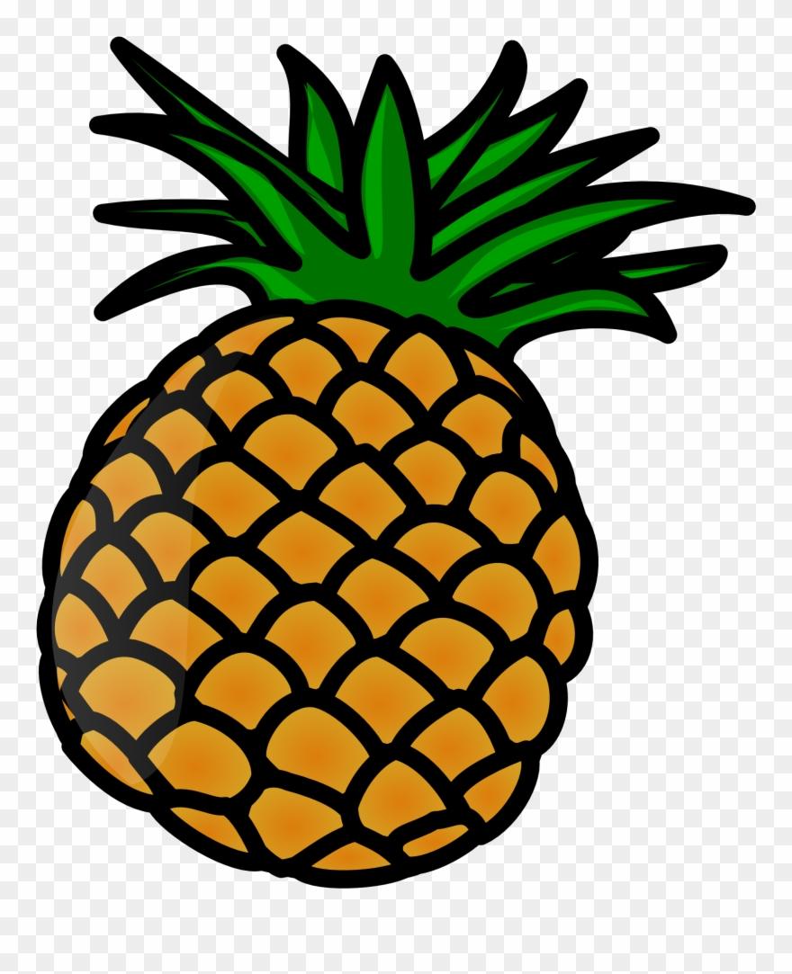 Pineapple Clip Art.